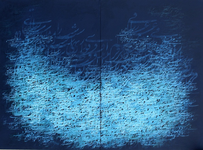 acrylic on canvas, 110*160 cm