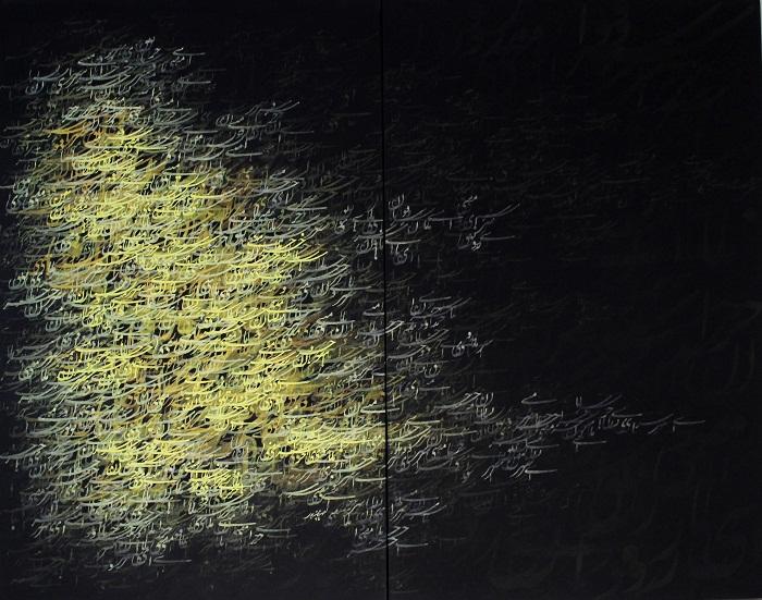 acrylic on canvas, 120*140 cm