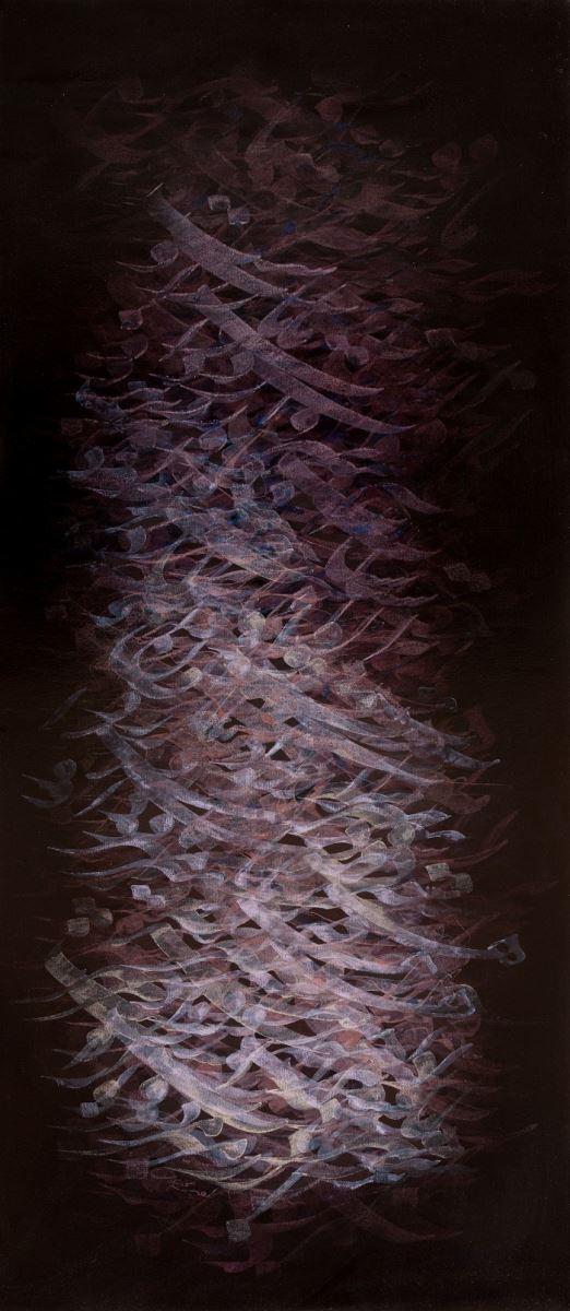 acrylic on canvas, 80*140 cm