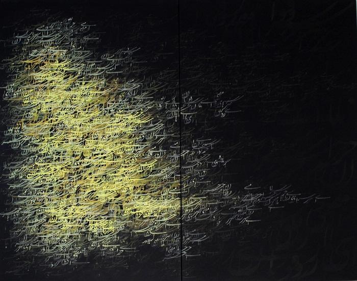 acrylic on canvas, 110*140 cm