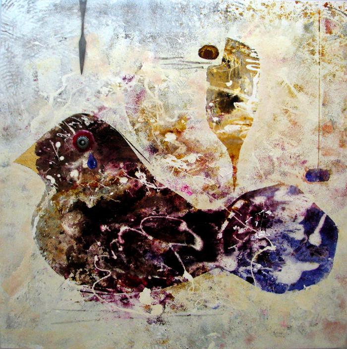 acrylic on canvas, 150*150 cm