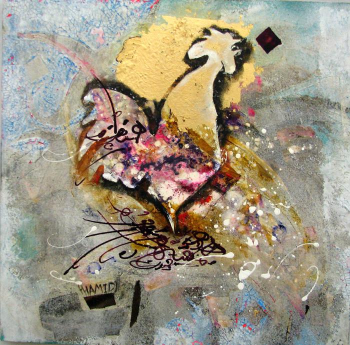 acrylic on canvas, 50*50 cm