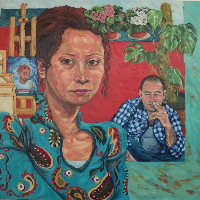 Oil on canvas , 120 * 120 cm