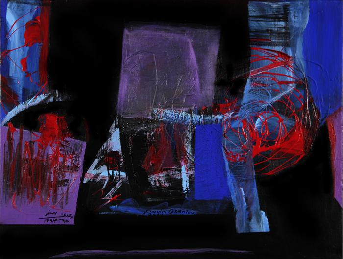 acrylic on canvas, 35*45 cm