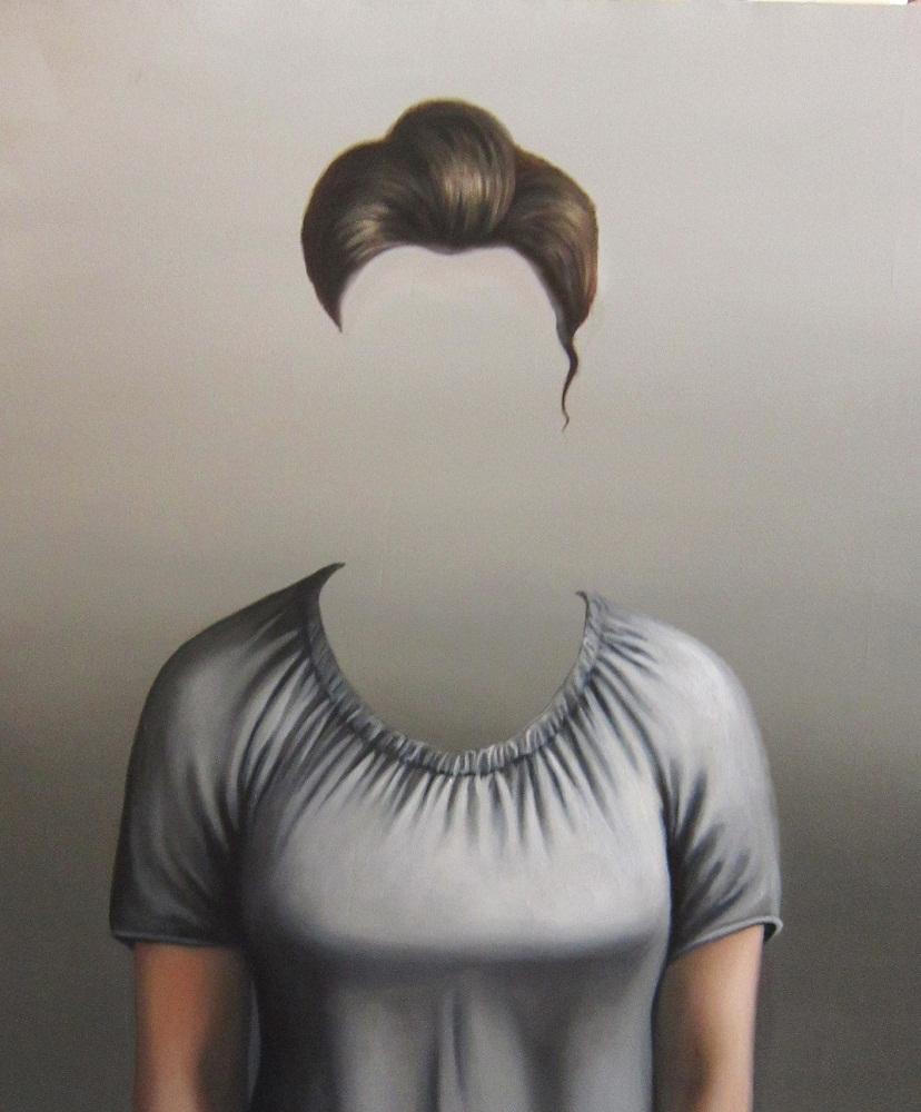 Oil on canvas , 100 * 80 cm