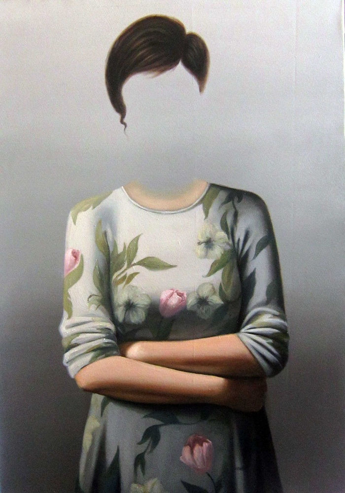 Oil on canvas , 100 * 70 cm