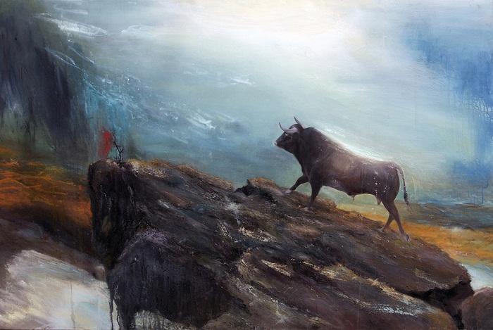 acrylic & oil on canvas, 150*100 cm