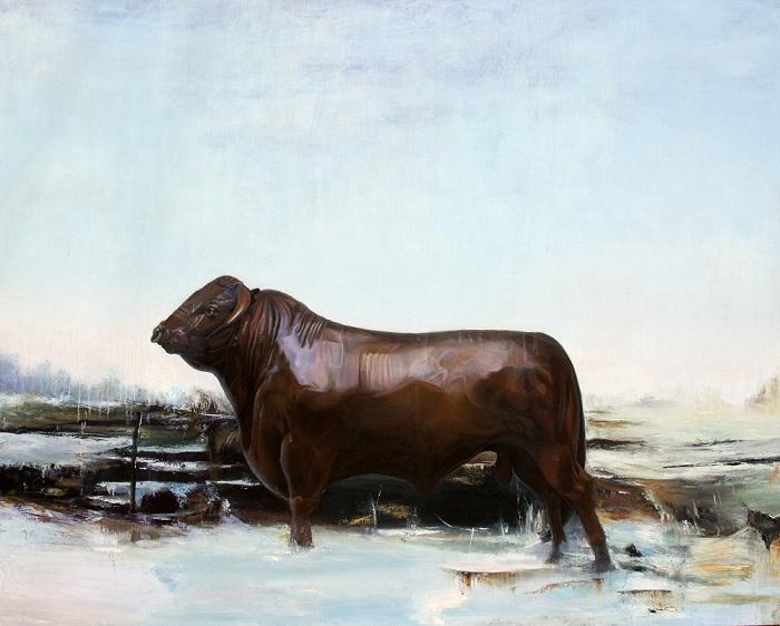 acrylic & oil on canvas, 150*120 cm