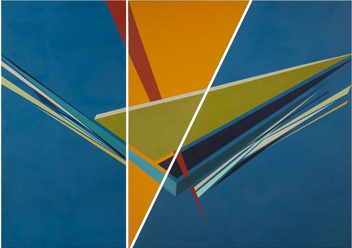 acrylic on canvas, 140*186 cm