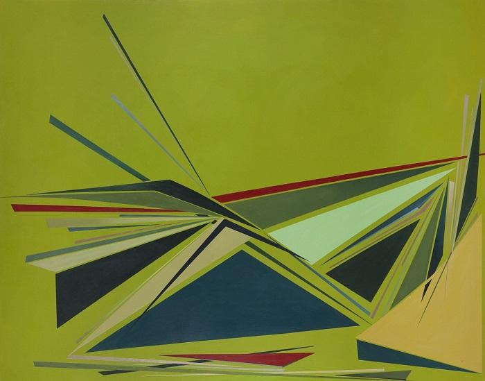 acrylic on canvas, 140*180 cm