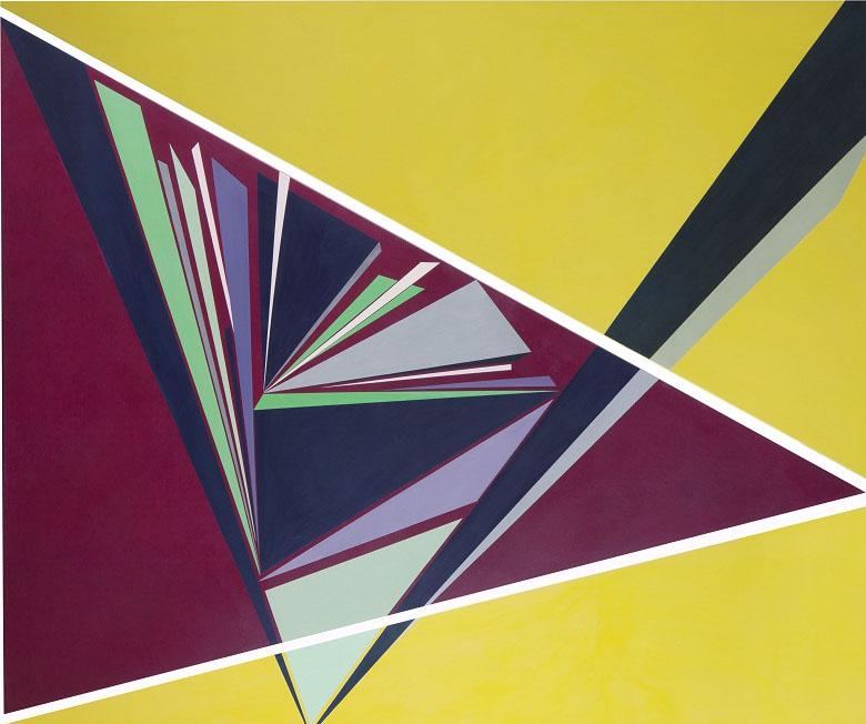 acrylic on canvas, 146*180 cm