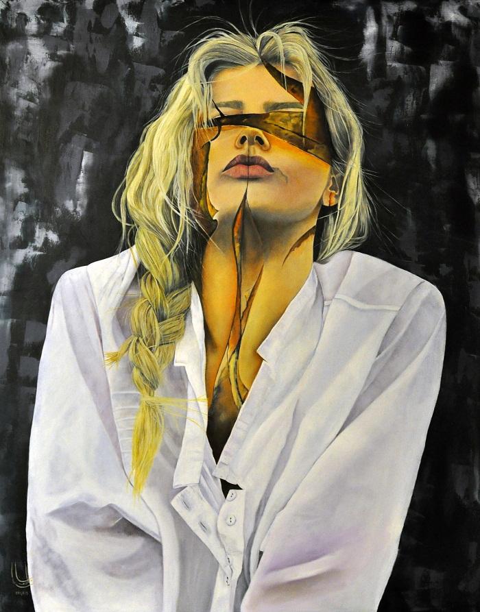 oil on canvas, 100*80 cm