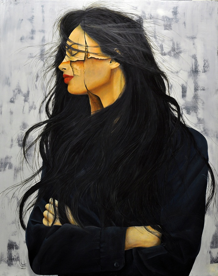oil on canvas , 80*100 cm