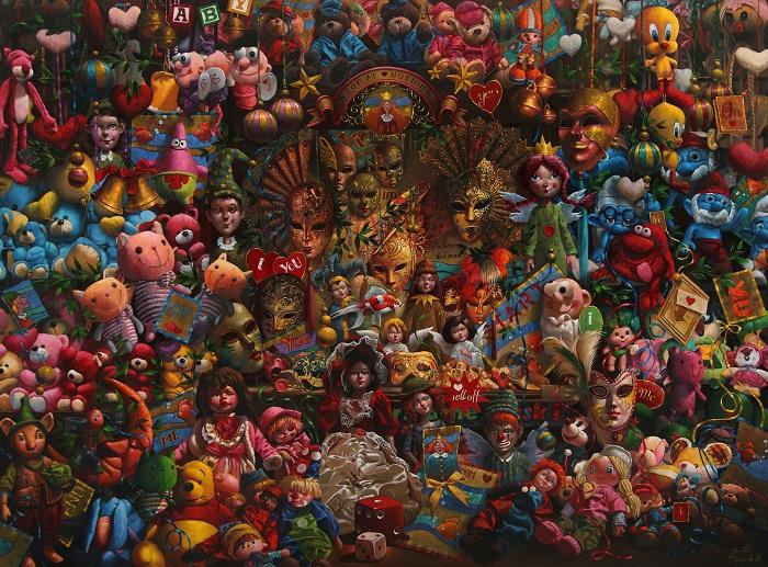 oil on canvas, 150*200 cm