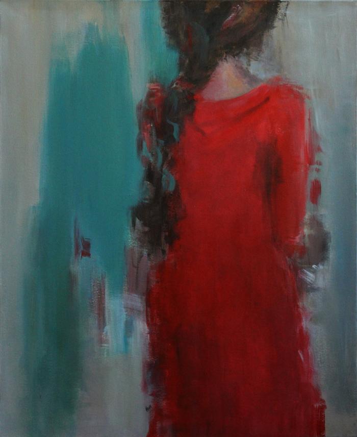 acrylic on canvas, 100*80 cm