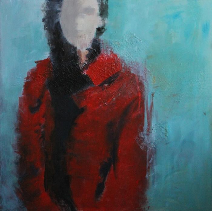 acrylic on canvas, 80*80 cm