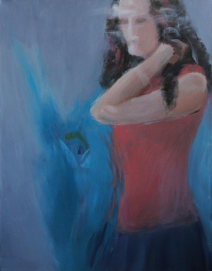 acrylic on canvas, 90*70 cm