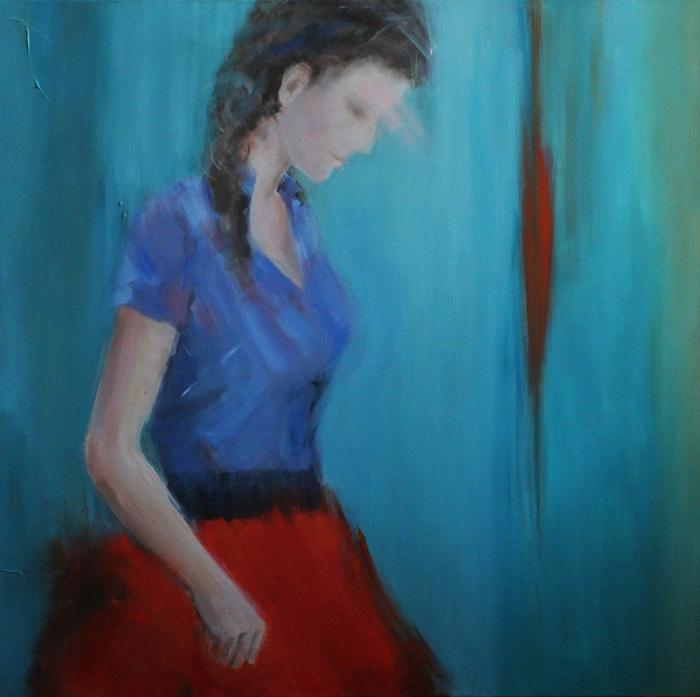 acrylic on canvas, 100*100 cm