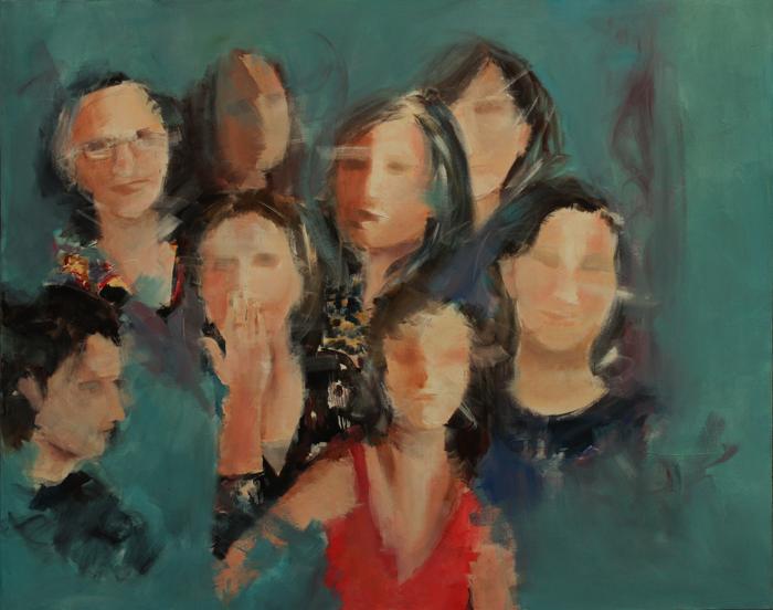 acrylic on canvas, 120*150 cm